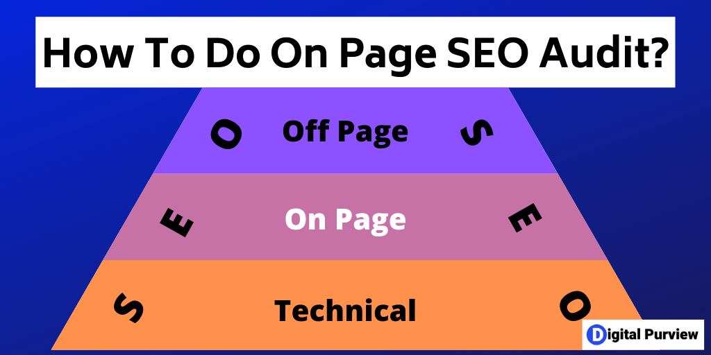 how to do on page seo audit