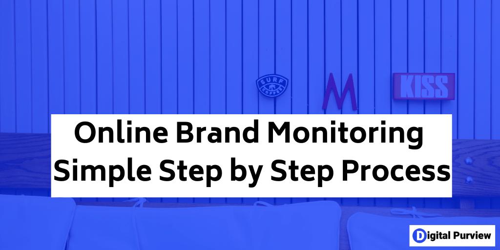 online brand monitoring